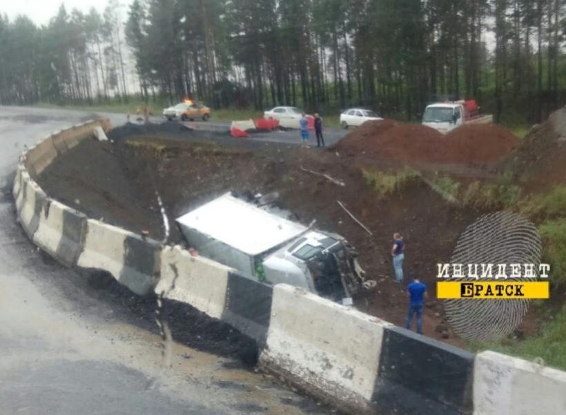 Два человека пострадало в ДТП между Вихоревкой и Братском