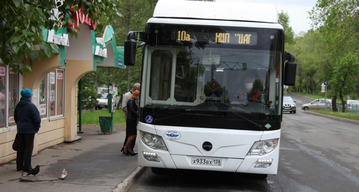 Новые автобусы на газомоторном топливе вышли на маршруты в Братске