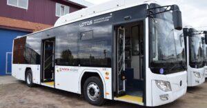 Шесть газобаллонных автобусов поступили в Братск