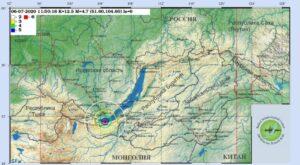 Землетрясение 6 июля на Байкале оценили в пять-шесть баллов