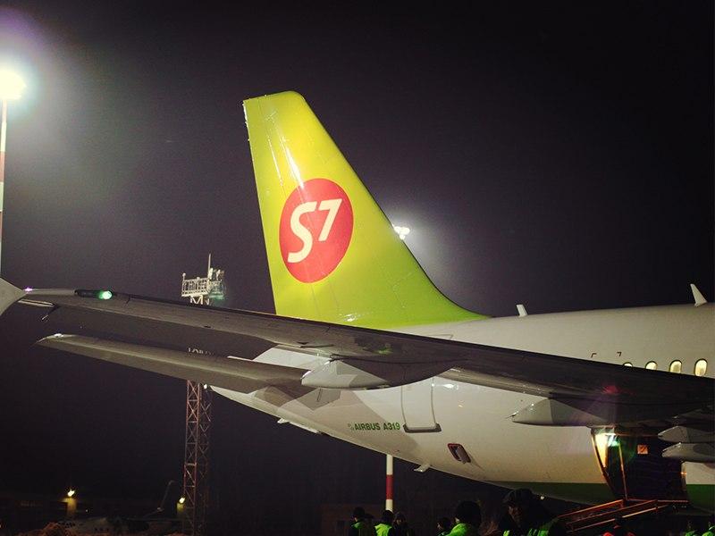 Самолет авиакомпании S7 экстренно приземлился в Братске из-за смерти пассажирки - СМИ