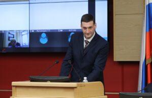 Константин Зайцев согласован ЗС в должности председателя правительства Иркутской области