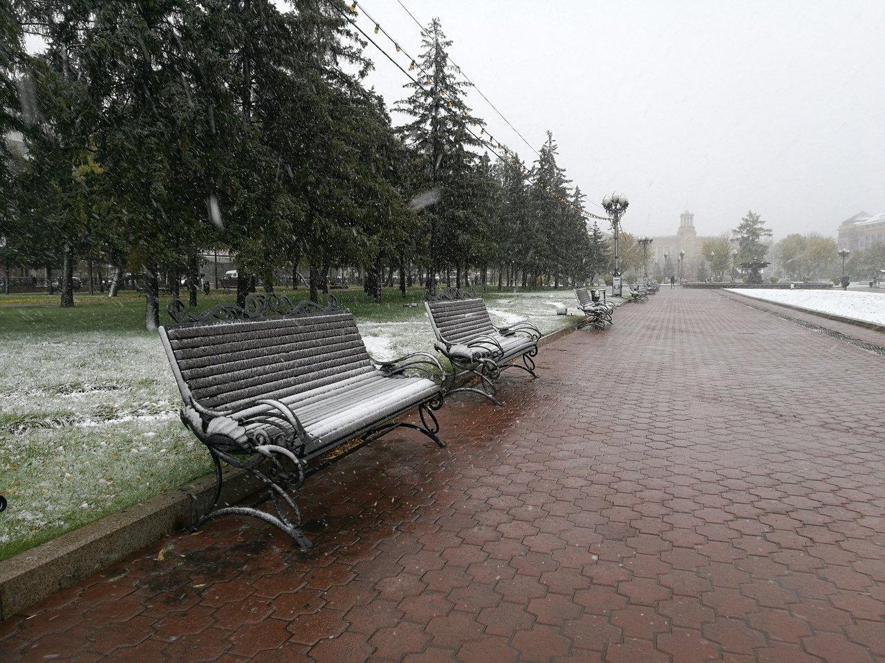 Усиление ветра и снег прогнозируют в Приангарье на выходные 10-11 октября