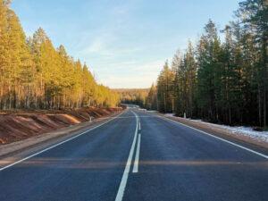 """11 километров трассы """"Вилюй"""" отремонтировали в Нижнеилимском районе"""