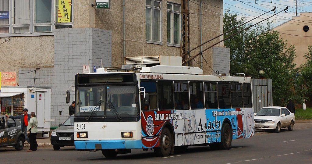 Движение троллейбусов по маршруту № 1УКт временно закрыли в Братске